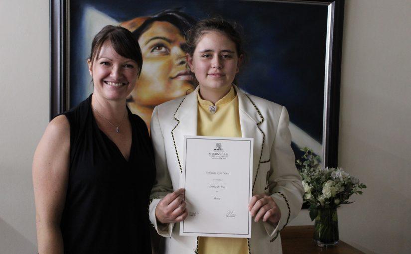 Honours for Emma