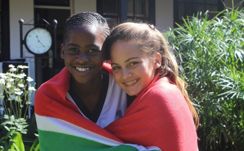 Our Grade 6 Exchange Girls Depart for the U.K.