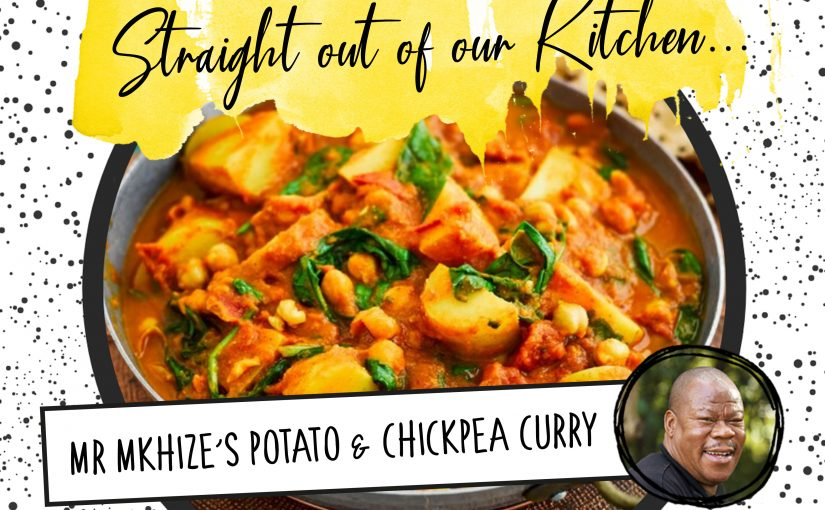 Recipe: Mr Mkhize's Potato and Chickpea Curry