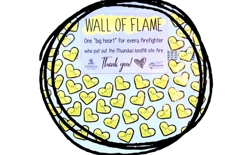 Wall of Flame 💛