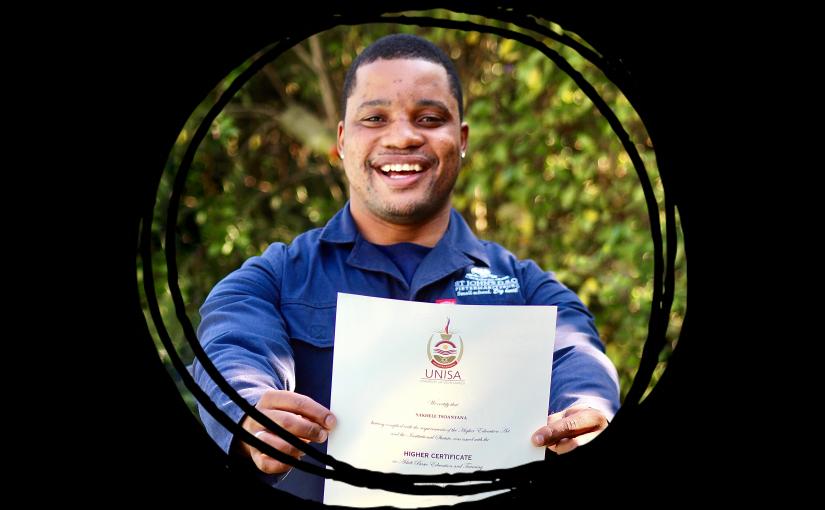 Mr Tsoanyana's Achievement 💛